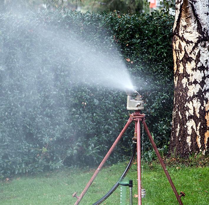 Feinste Wasserverteilung
