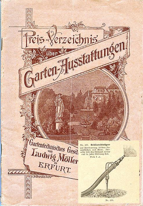 Ludwig Möller um 1900