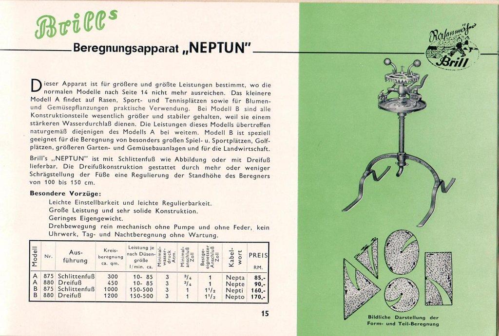 Beregnungsapparat Neptun
