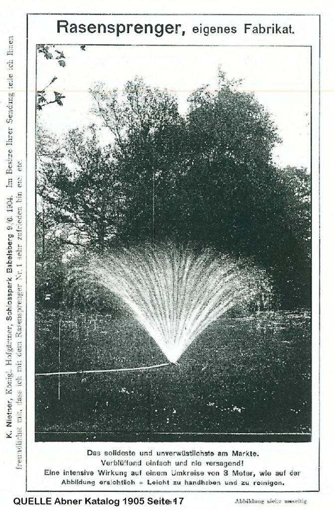 Abner Katalog 1905