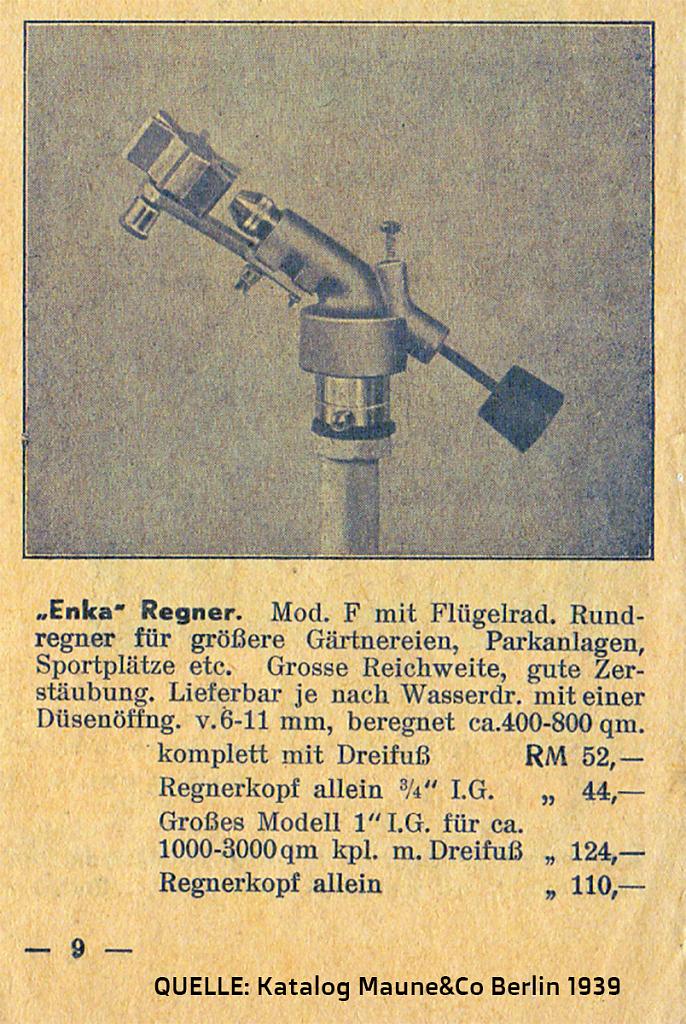 Katalog Maune&Co Berlin 1939