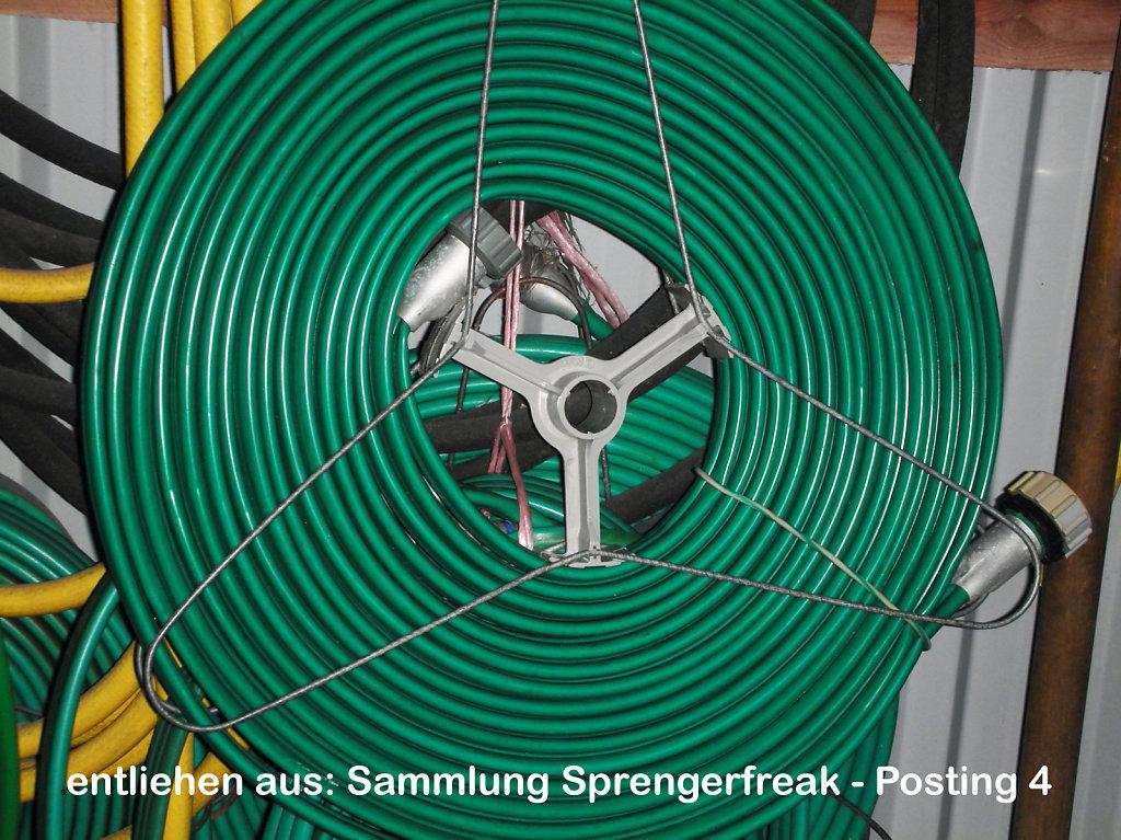 DDR Konsumgut Der KWO Rieselschlauch